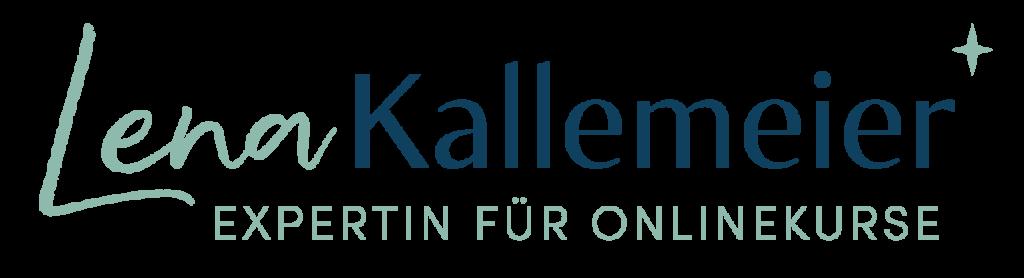 Logo von Lena Kallemeier Expertin für Onlinekurse, Onlinekurserstellung, Beratung